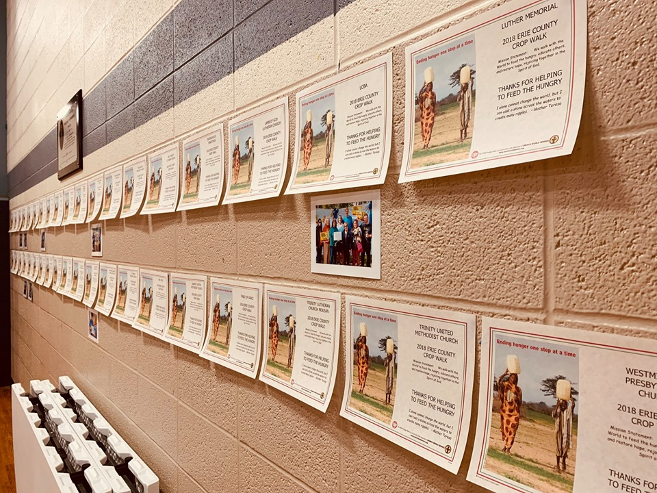 Crop Lunchon 2019 Wall of Certificates